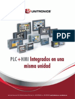 Catalogo 2013 Unitronics - Español