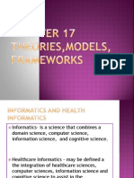 Chapter 17 Theories,Models, Frameworks Report Ko