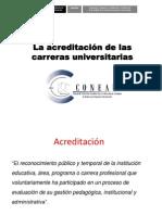 La acreditación de las carreras universitarias (2)