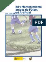 Seguridad y Mantenimiento de Los Campos de Futbol de Cesped Artificial Web Excelente