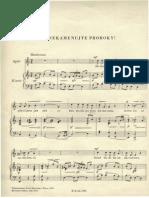 2 Večerní písně B.Smetany
