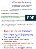 riders to the sea synopsis