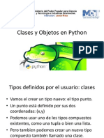 Clases y Objeto Python