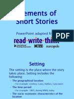 shortstory elements