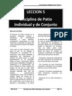 05 Disciplina de Patio Individual & Conjunto