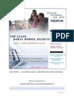 Top Class Nokia Mobile Secrets