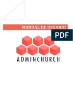 Manual ADMINCHURCH