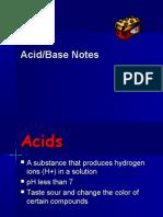 acid base notes