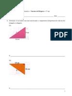 Teorema de Pitágoras - Matemática - 8. ano