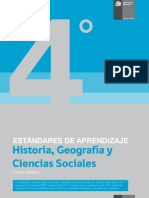 Estándares de Aprendizaje Historia, Geografí-a y Ciencias Sociales 4º básico - Decreto 129_2013