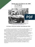 Golpe de Estado Del 2 de Febrero de 1989 en Paraguay - Vicente Brunetti