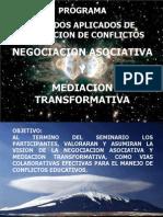 Curso Metodos Aplicados de Resolucion de Conflictos