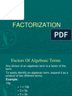 Factor Ization