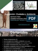 La ciudad y el medio ambiente