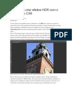 HDR Com o Photoshop CS6