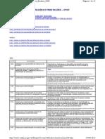 CFOP com descrição de utilização