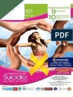 MEMORIAS PRIMER CONGRESO INTERNACIONAL DE LA RED NACIONAL DE SUICIDIOLOGÍA