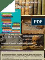 Literatura, sus géneros y subgéneros2