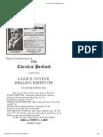 John G Lake Newspaper Clips