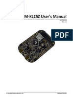 FRDM-KL25Z User's Manual Rev 2