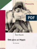 Piazzolla_Oda Para Un Hippie - Piano