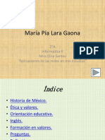Aplicaciones de Las Redes en Mis Estudios.