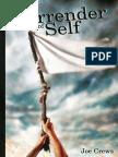 Surrender of Self, The by Joe Crews