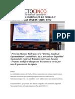 31-01-2014 Proyecto Cinco - ESTABILIDAD ECONÓMICA DE PUEBLA Y MÉXICO, ATRAE INVERSIONES, RMV