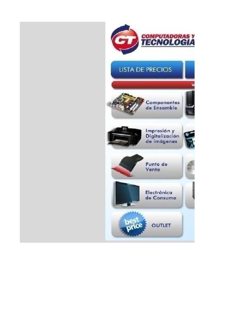 633 Lista de Precios de Ct 061713 | Disco duro | Equipo de oficina