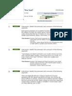 PHL/410 Classical Logic Pre-Test CH 1