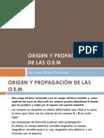 ORIGEN Y PROPAGACIÓN DE LAS O