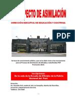 PROSPECTO DE ASIMILACIÓN 2014