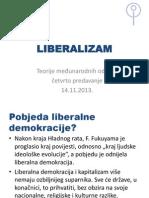Teorije međunarodnih odnosa Liberalizam