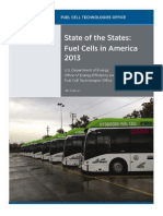 State of the States- Fuel Cells in America 2013 (DOE)