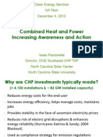 Combined Heat and Power Increasing Awareness and Action (DOE CHP TAP 2013)