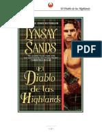 Sands Linsay - Highlands 01 - El Diablo de Las Highlands