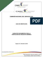 Guia Documentos Cnsc