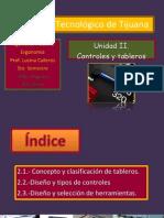 UNIDAD II. Tableros y Controles.pptx