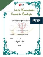 Test de Inteligencia WAIS
