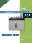 4to Laboratorio-momento de Inercia