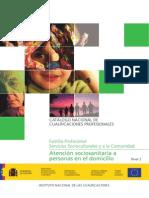 Catalogo Nacional de Cualificaciones Profesionales Dependencia