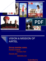 Misson & Vission of Airtel