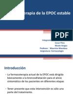 Farmacoterapia de La EPOC