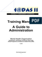 Training_manual WHO-DAS II