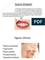 Absceso Gingival