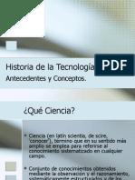 Historia de la Tecnología 001