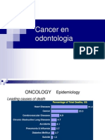 Cancer en Odontologia