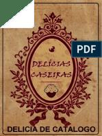 Catalogo Delicias Caseiras