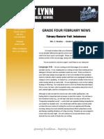 february newsletter revised 2014