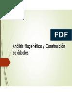 Análisis filogenético y Construcción de dendrogramas